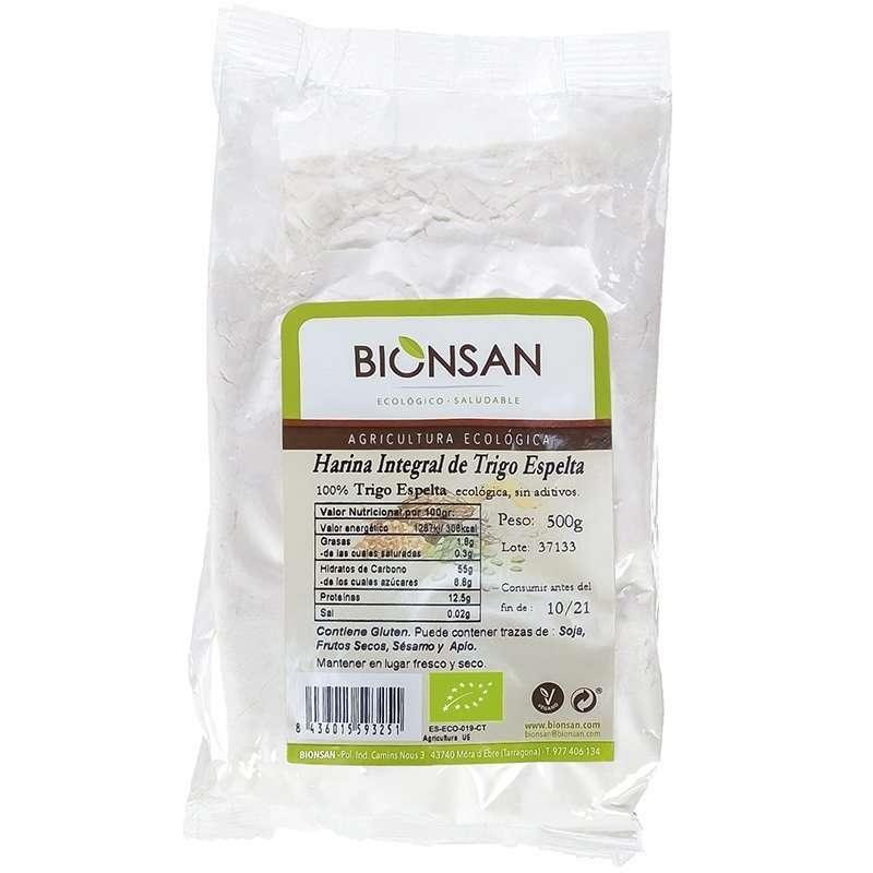 Harina de Espelta Integral Ecológica BIONSAN 500 gr
