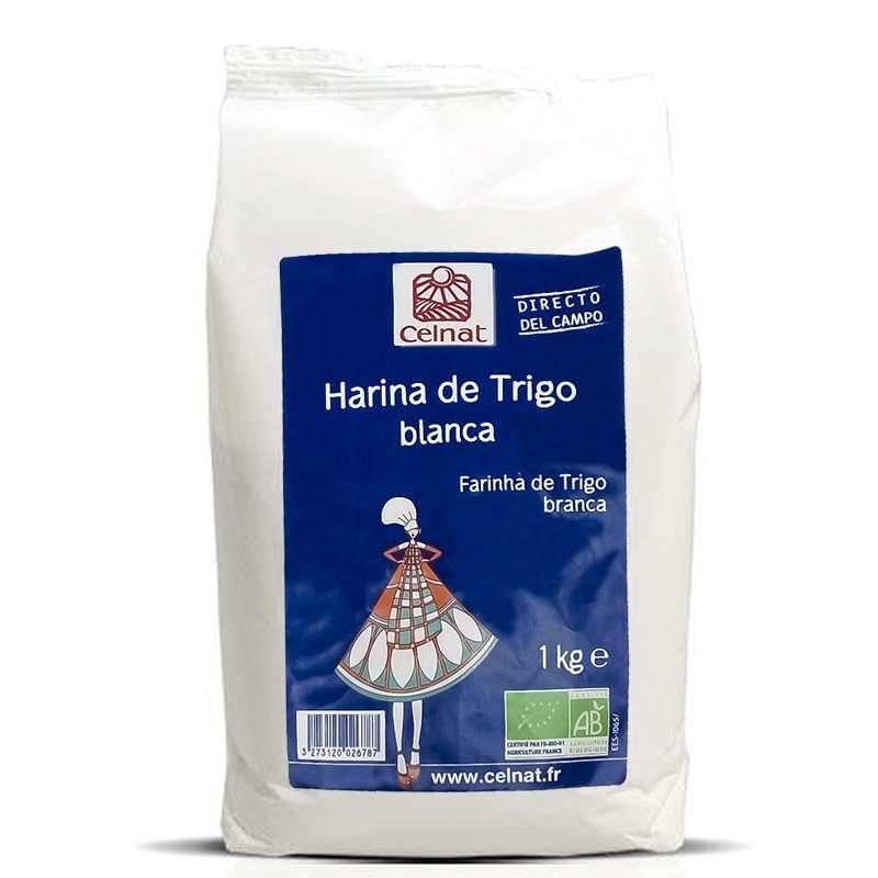 Harina de Trigo Blanco T65 CELNAT 1 kg