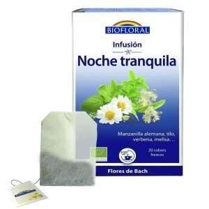 Infusión Noche tranquila Flores De Bach Biofloral 20 sobres