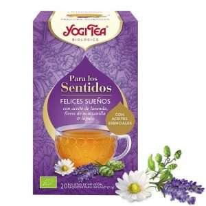 Para los sentidos Felices Sueños Yogi Tea 20 sobres