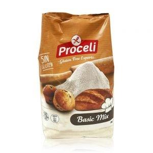 Preparado Panificable Basic Mix sin gluten Proceli 1 Kg