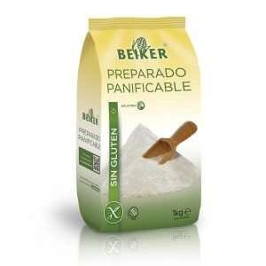 Preparado Panificable Sin Gluten Beiker 1 Kg