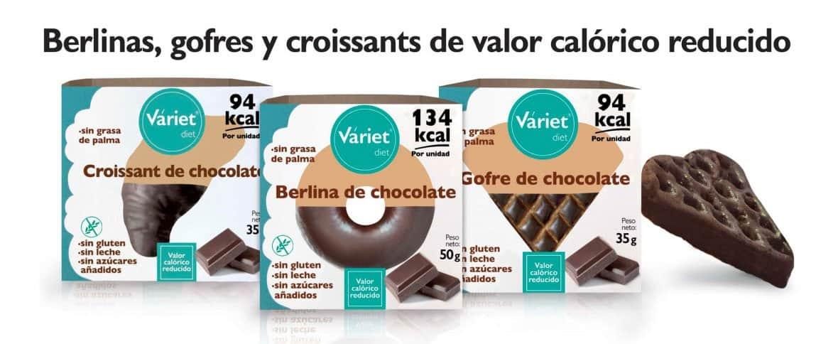 Bollería sin azúcar Variet Diet