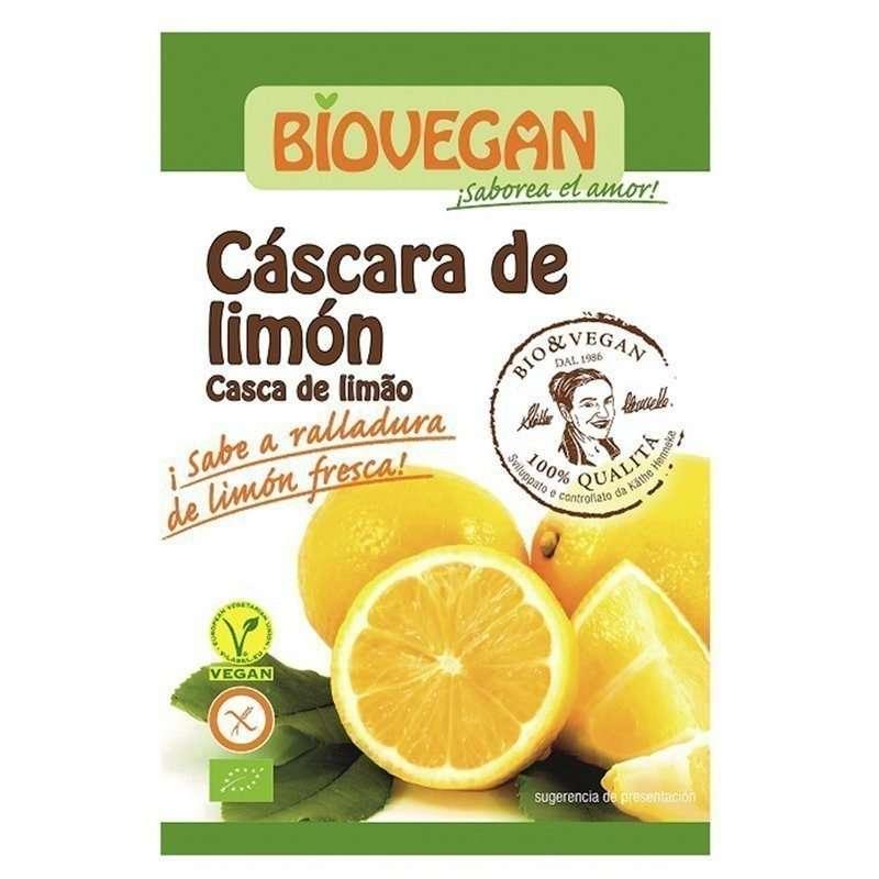 Ralladura de limón ecológica
