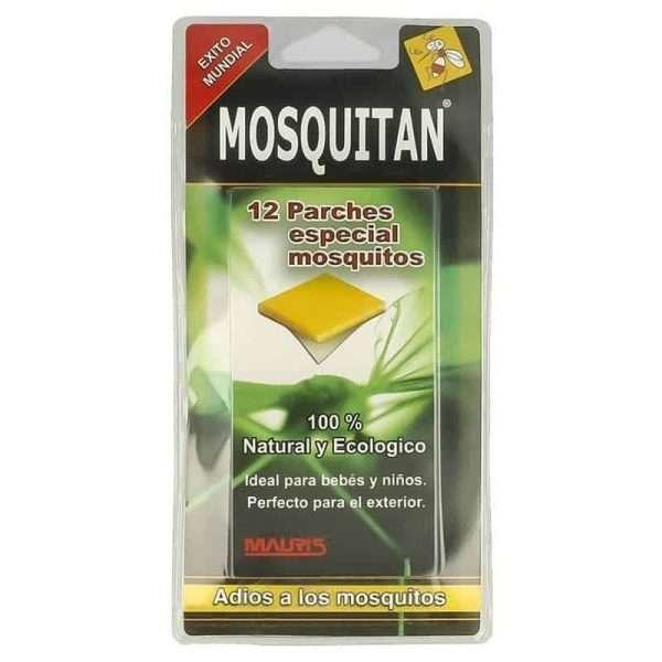 Repelente Mosquito Tigre Mosquitan 12 parches