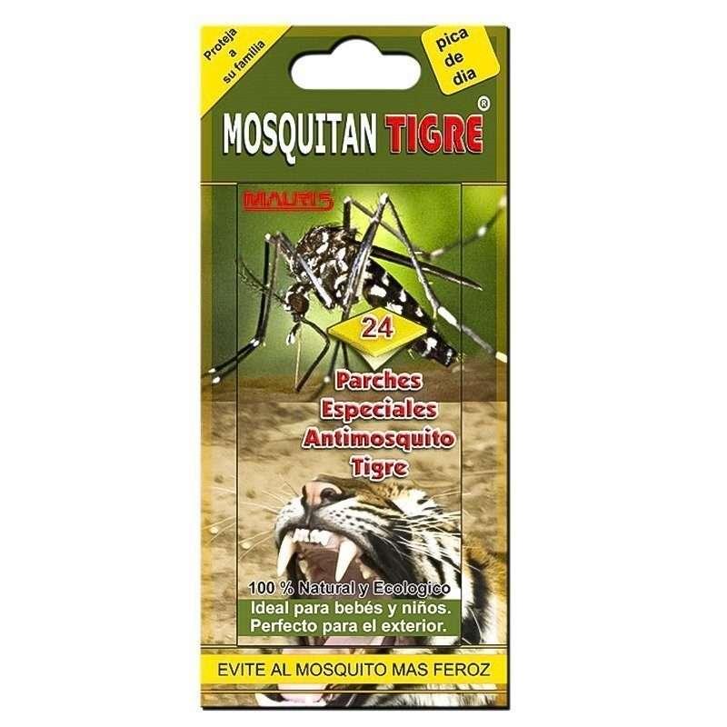 Repelente Mosquito Tigre Mosquitan 24 parches