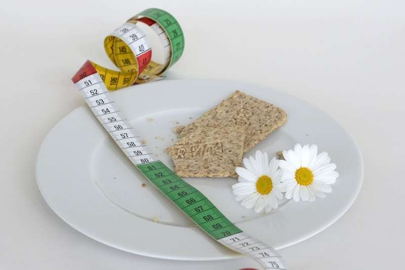 Todo pesado hasta el último gramo para estar saludable