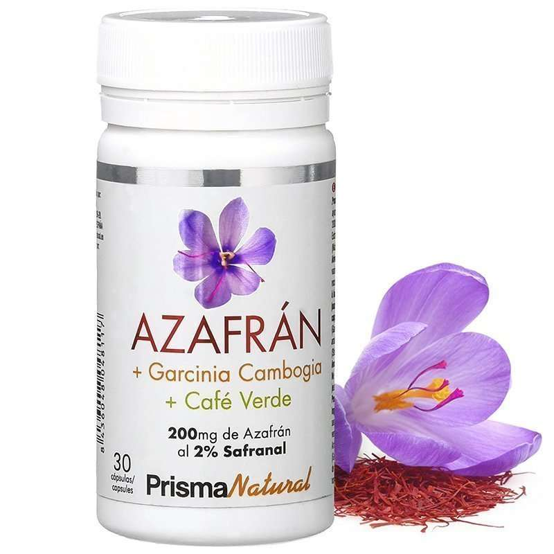 Azafran + Garcinia + Cafe Verde
