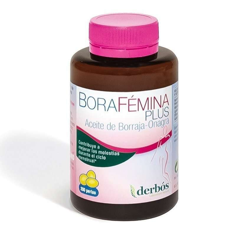 BoraFemina Aceite de Borraja Derbós 200 perlas