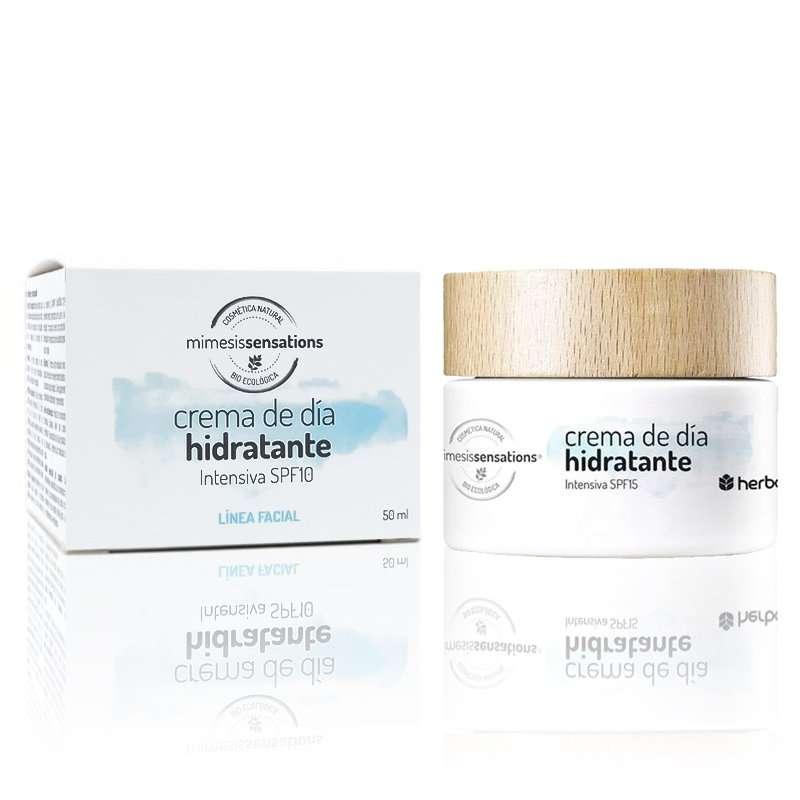 Crema de día hidratante intensiva SPF 15 Mimesis Sensations