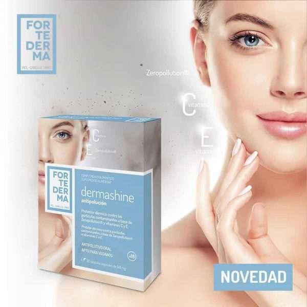 Dermashine antipolución Fortederma 30 cápsulas