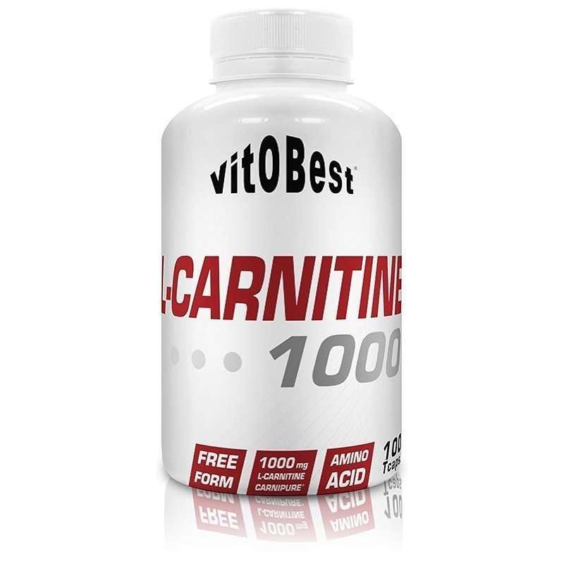 L-Carnitina 1000 L-Carnipure Vitobest 100 TripleCaps