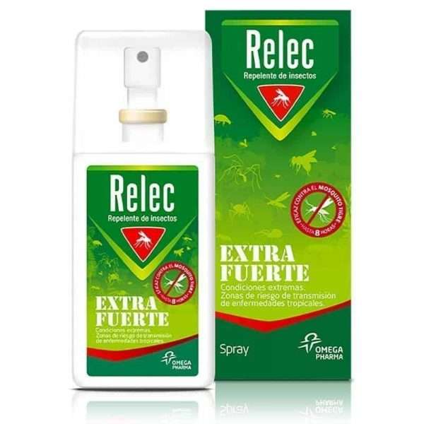 Relec Extra Fuerte Spray Repelente Perrigo Omega Pharma 75ml