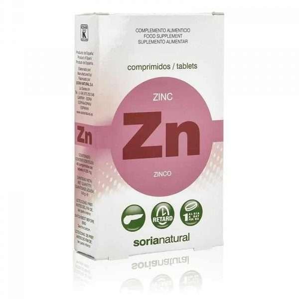 Zinc Retard Soria Natural 48 comprimidos