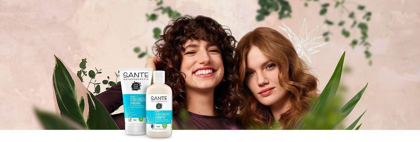 Champu Extra Sensitiv Bio-Aloe Vera & Bisabolol SANTE