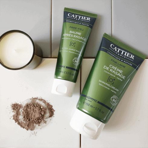 Crema de afeitar y After Shave Bio Cattier