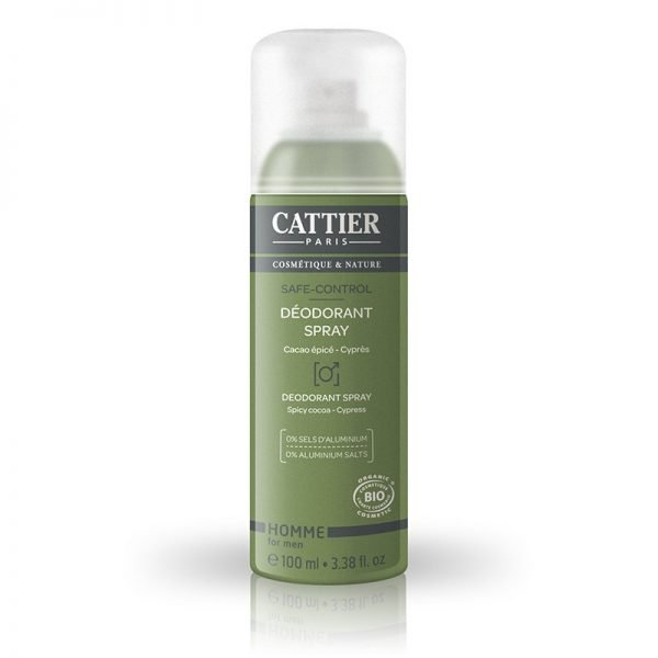 Desodorante Spray Hombre Bio Cattier 100ml