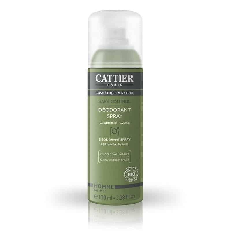Desodorante Spray Hombre Bio Cattier 100ml