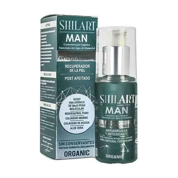 Emulsión Facial Post Afeitado Shilart Man 120ml
