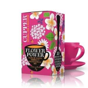 Flower Power Infusión Ecológica Cupper 20 bolsitas