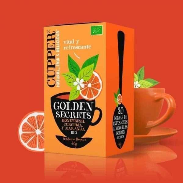 Golden Secrets Infusión Ecológica Cupper 20 bolsitas