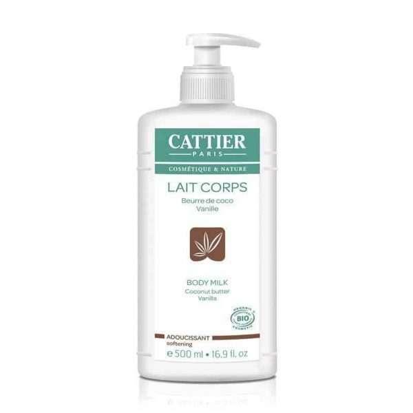 Leche Corporal Suavizante Coco Vainilla Cattier 500 ml