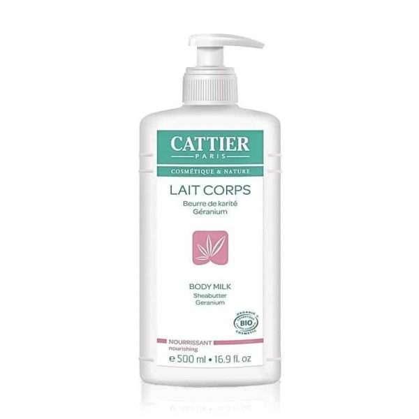 Leche Corporal Suavizante Karité Geranio Cattier 500 ml