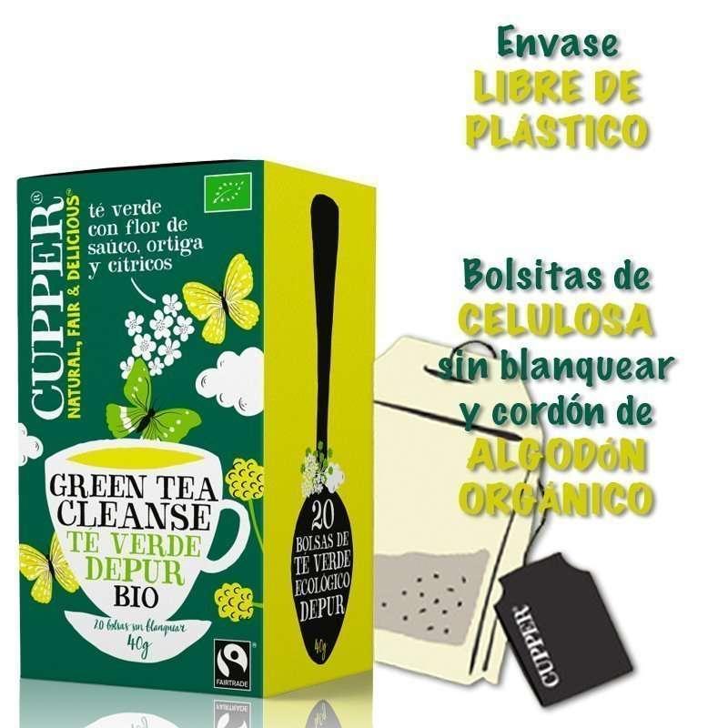 Té Verde Depur Bio Cupper 20 bolsitas