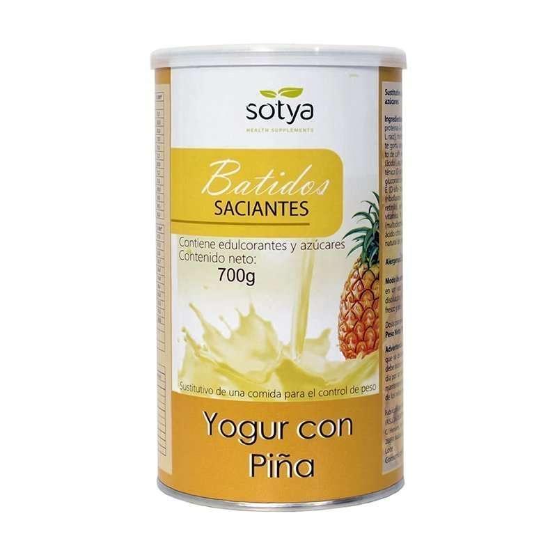 Batidos saciantes Sotya Yogur con Pina