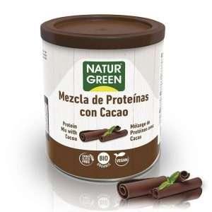 Mezcla Proteína con Cacao Bio NaturGreen 250g