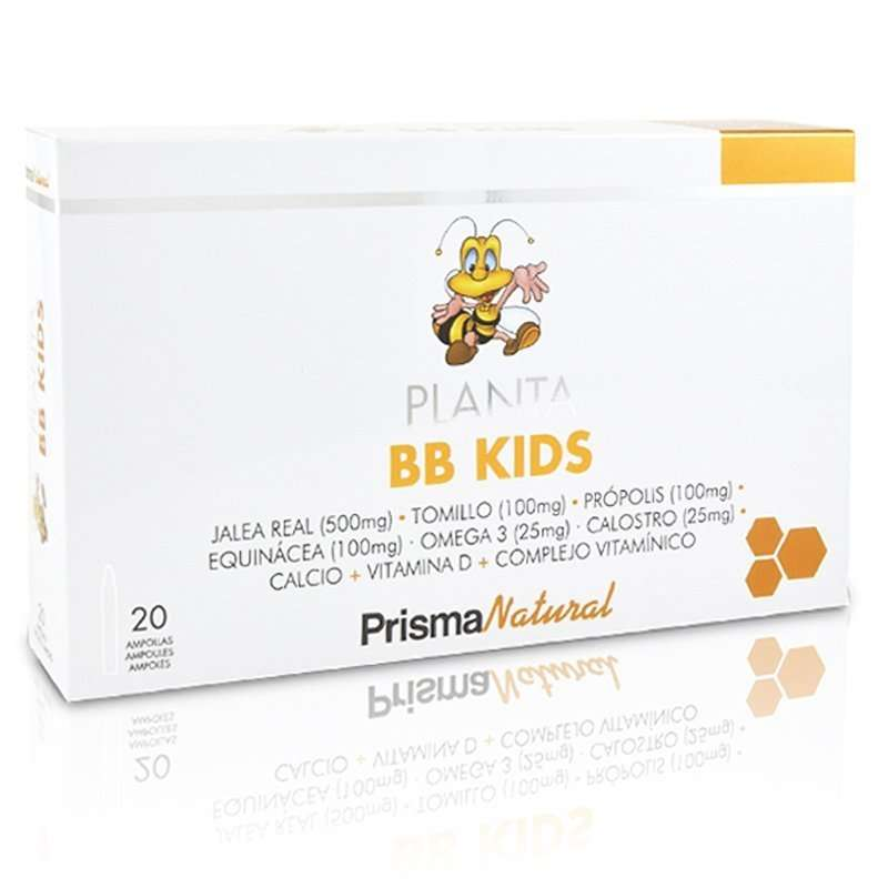 Planta BB Kids Prisma Natural 20 viales 10 ml