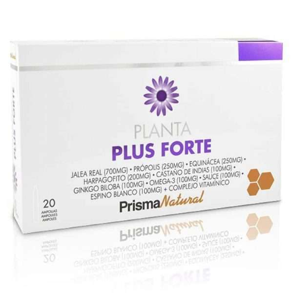 Planta Plus Forte Prisma Natural 20 viales 10 ml