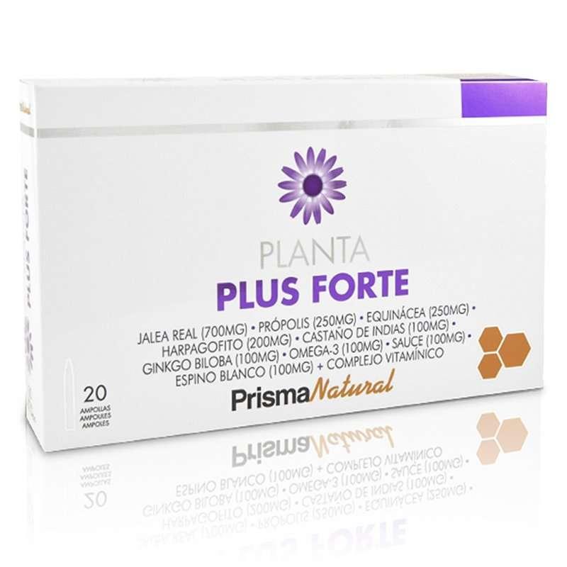 Planta Plus Forte Prisma Natural 20 viales 10 ml