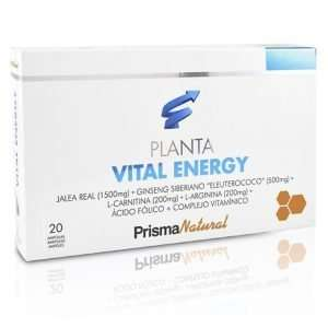 Planta Vital Energy Prisma Natural 20 viales 10 ml