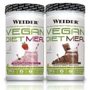 Vegan Diet Meal Chocolate Fresa Weider 540g