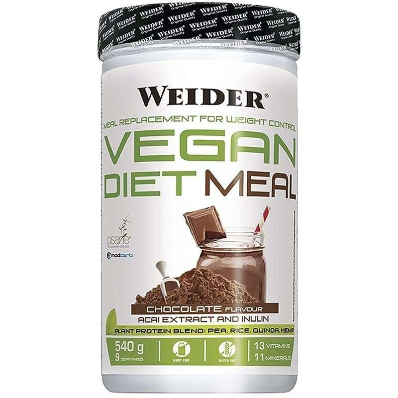 Vegan Diet Meal Chocolate Weider 540g