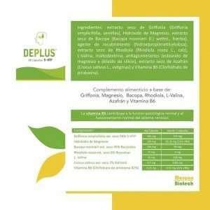 Deplus Margan 60 cápsulas