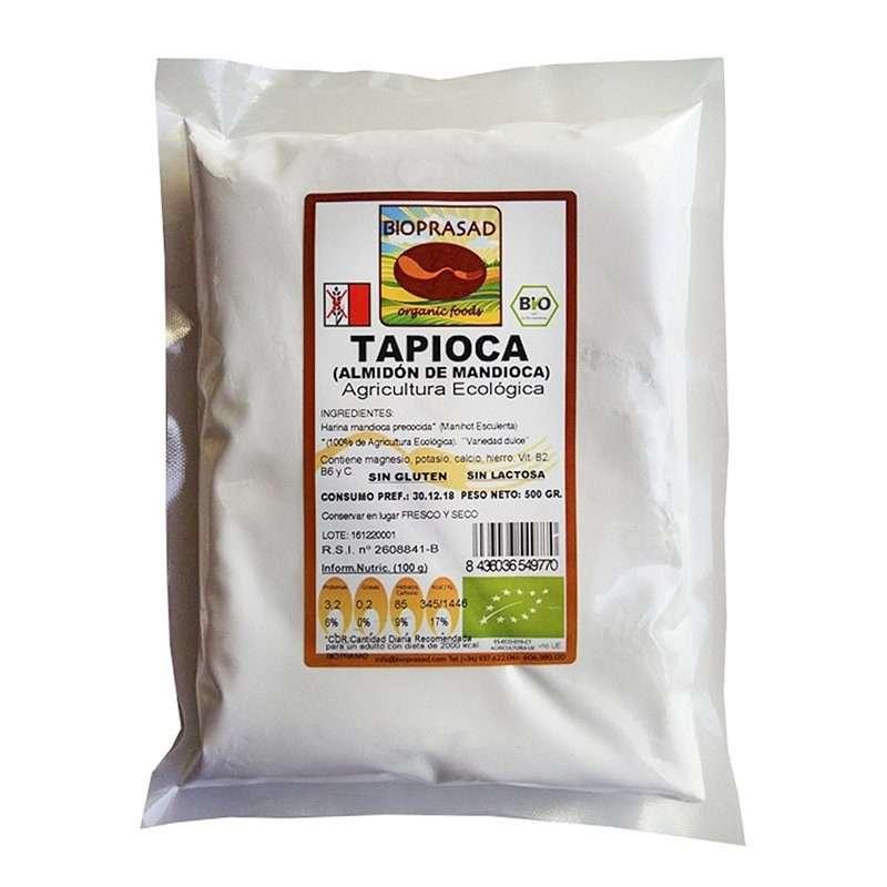 Harina de Mandioca Tapioca Bio Bioprasad 500g