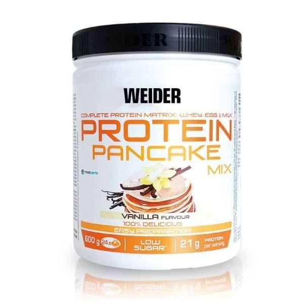 Protein Pancake Mix Weider 600g Vainilla