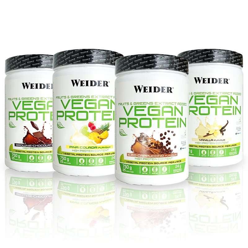 Vegan Protein Weider 750g