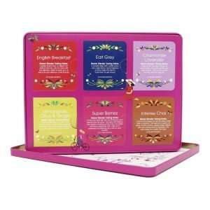 English Tea Shop Premium Holiday Collection Caja Roja de Metal