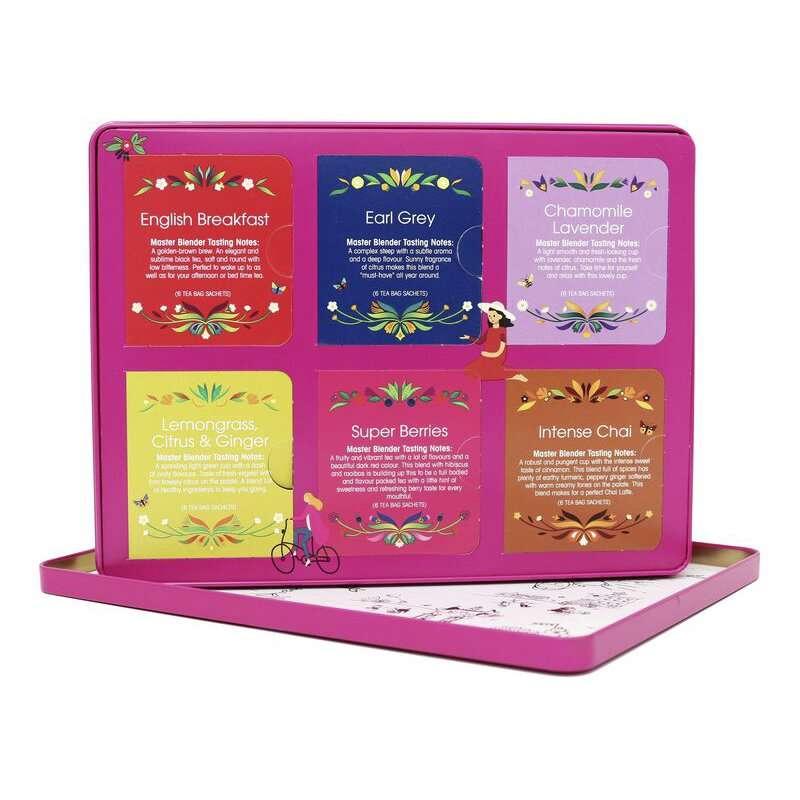 English Tea Shop Premium Holiday Collection Caja Roja de Metal