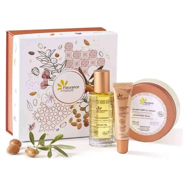 Box Tesoros de Marruecos Argan Fleurance Nature 50+150+15ml