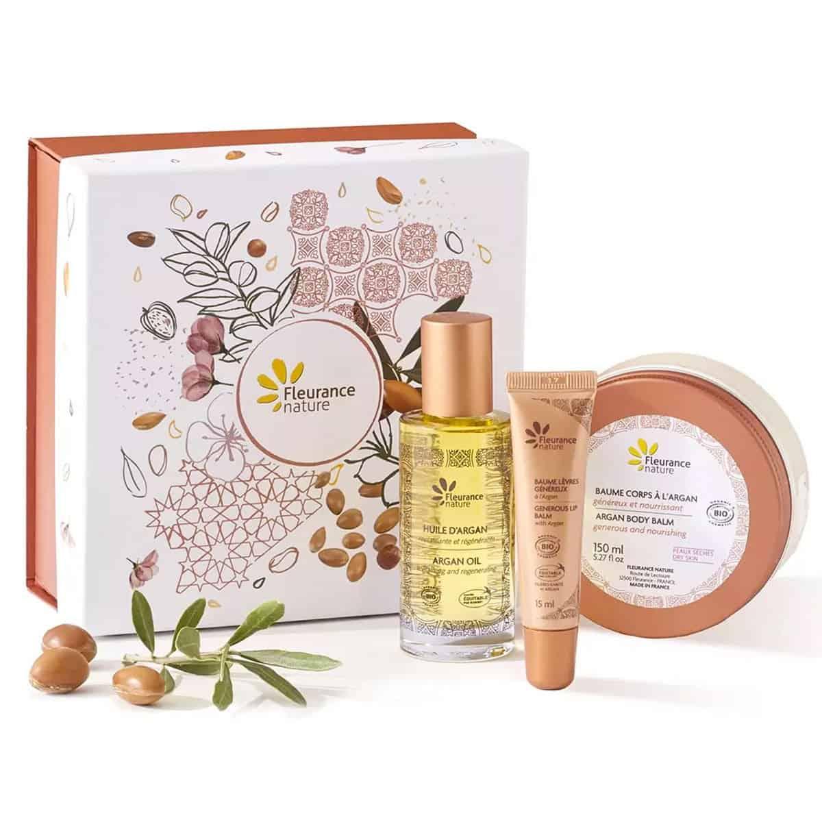 Box Tesoros de Marruecos Argan Fleurance Nature 50+150+15ml