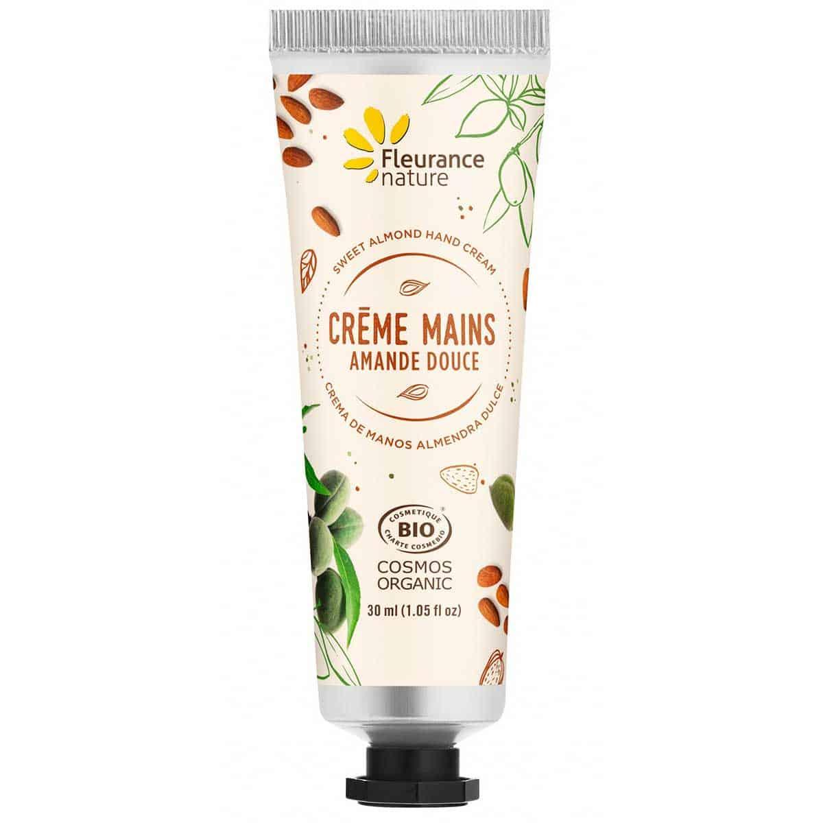 Cofre Crema de Manos Bio Fleurance Nature Almendra Dulce