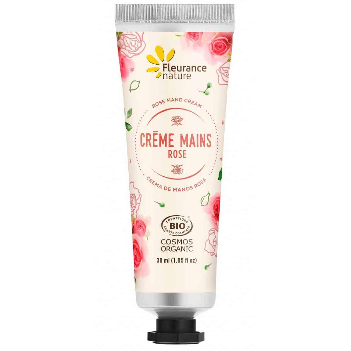 Cofre Crema de Manos Bio Fleurance Nature Rosa