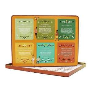 English Tea Shop Super Goodness Collection Caja Naranja de Metal