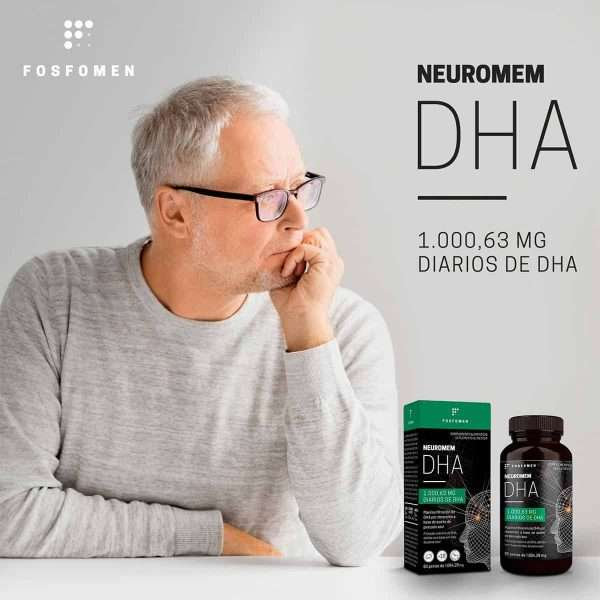 Neuromem DHA Fosfomem de Herbora 60 perlas