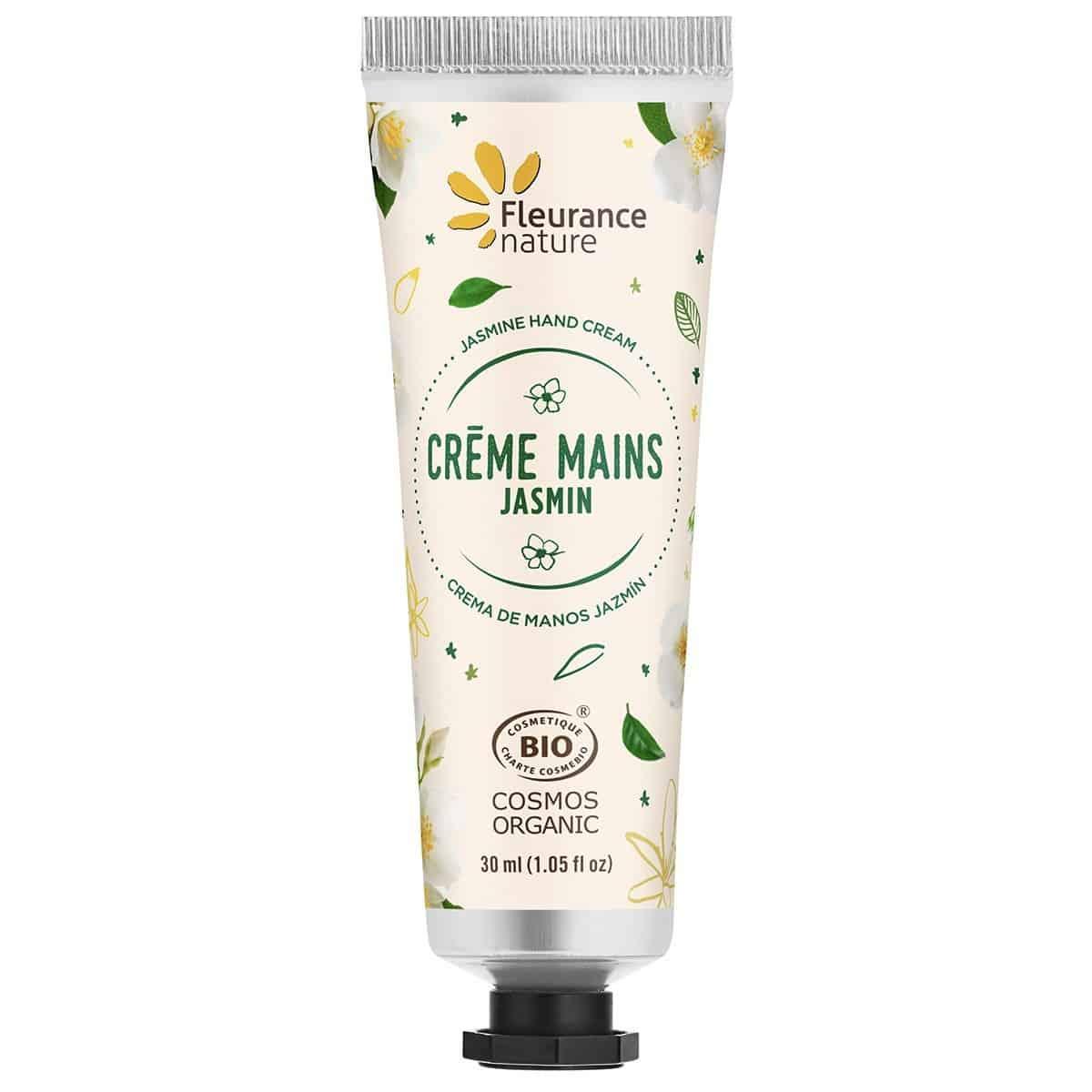 Set Crema de Manos Bio Cofre Verde Fleurance Nature jazmin