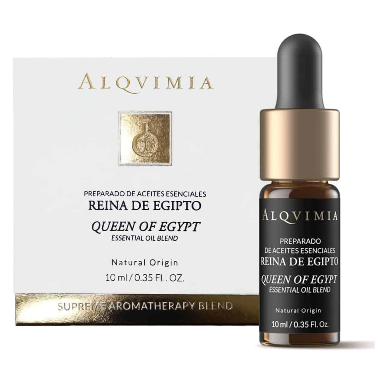 Alqvimia Preparado de Aceites Esenciales Reina de Egipto 10 ml